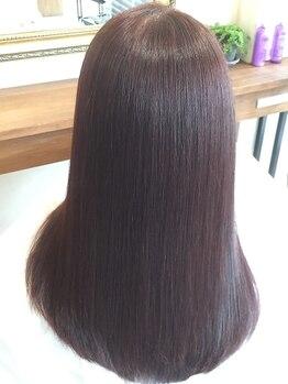 ニコ ヘアデザイン(nico hair design)の写真/うるツヤヘアの思わず触りたくなる自然な仕上がりが大好評☆ナチュラル×柔らかい質感の理想のスタイルに♪
