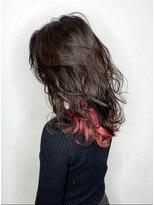 ソース ヘア アトリエ 京橋(Source hair atelier)【SOURCE】インナーレッドレイヤー