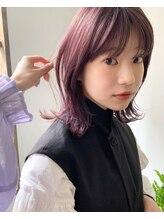 プフ(puf)Minako's guest #パープルカラー×レイヤーミディアム