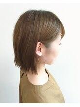 ジェム デザイン ヘアサロン(gem Design Hair Salon)切りっぱなしボブ