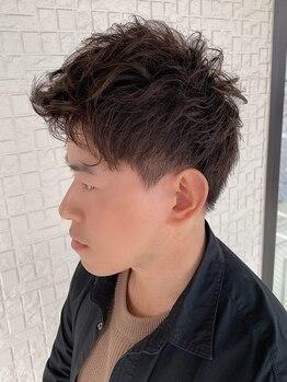テラスヘア(TERRACE hair)の写真/扱いやすいカット+頭皮ケアもできる新潟男子に人気のサロン◎ホームケアまでしっかりサポートします!