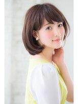 ジョエミバイアンアミ(joemi by Un ami)【joemi】モード×ミルクティーカラー×トップノット(小倉太郎)