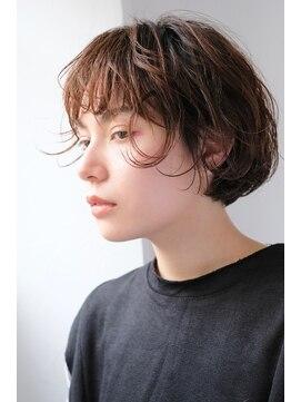 シアン ヘア デザイン(cyan hair design)【cyan】マッシュショートボブ