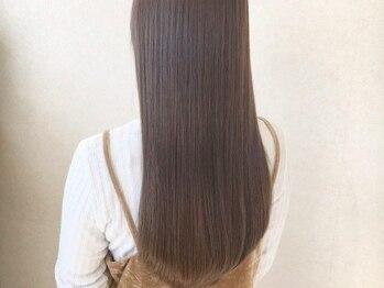 ワヴ ヘアー(WUV HAIR)の写真/誰もが触れたくなる極上の艶髪へ《WUVHAIRオリジナルヘアケアシステム》
