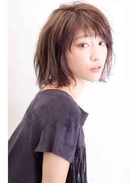 ミンクス 原宿店(MINX)【似合わせカット】大人気レイヤーボブ×ブルージュ