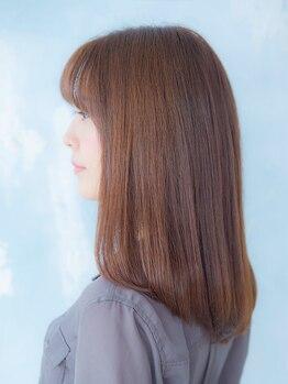 ソーエン ヘアー ブルーム 札幌駅前店(soen hair bloom by HEADLIGHT)の写真/【カット+トリートメント¥4700】可愛いStyleはヘアケアが重要!豊富なトリートメントMENUでうるツヤ髪に♪