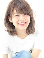 【GARDEN】耳かけして可愛い愛され小顔ミディアムロブ(田塚裕志)