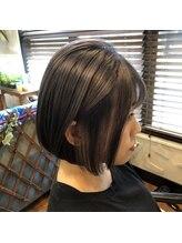 ヘアールーム ラジェム(Hairroom La.gemme1)ブルークリスタルカラー