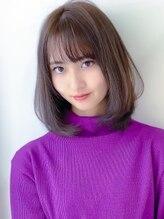 アグ ヘアー コイ 鶴見イオン前店(Agu hair koi)《Agu hair》さらつや質感★ワンカールロブ