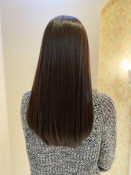 """チュラリナータ(CHURA Rinarta)の写真/思わず触れたくなる質感♪""""あなただけ""""のフルオーダーメイド♪5年後、10年後まで見惚れるほど綺麗な髪へ♪"""