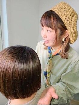 コソット(kosotto)の写真/女性スタッフのみなので髪や体の相談はもちろん、お喋りも気兼ねなく楽しめます♪細やかな気配りに満足度◎