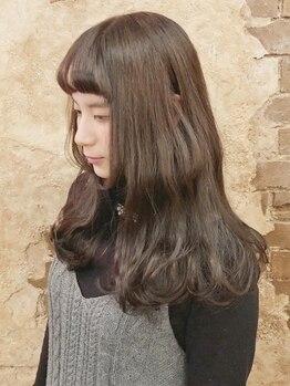 マギーヘア(magiy hair)の写真/伸ばしかけヘアやマンネリスタイルにはパーマが最適♪抜け感あるニュアンスをプラスして一気にイメチェン★