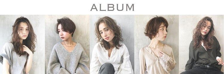 アルバム ハラジュク エス(ALBUM HARAJUKU_S)のサロンヘッダー