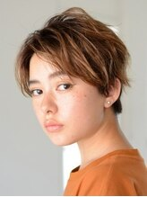アース 上野店(HAIR&MAKE EARTH)イノセントなエアリーショートスタイル
