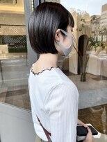 ヘアーアイスカルテット(HAIR ICI QUARTET)ミニボブ 黒髪 ショートヘア