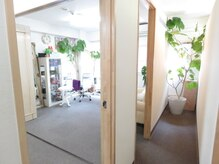 横濱ハイカラ美容院(haikara美容院)の雰囲気(個室なのでお子様連れ、遠方からのご家族やお着替えも可能です♪)
