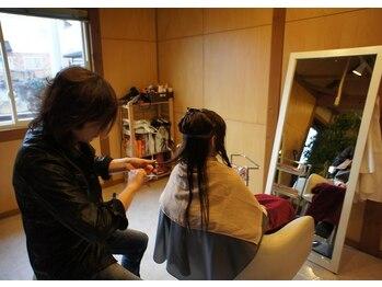 ヘア・トリップ・スプレー(Hair trip Spray)の写真/《須賀川駅すぐそば》ゆったりと過ごせる完全予約制のプライベートサロン!小さなお子様連れも大歓迎です♪