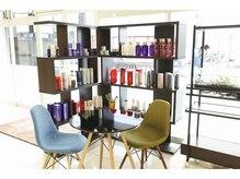 美容室ゼル 新所沢(ZELE)の雰囲気(あなたにピッタリのヘアケア剤が見つかります)