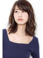"""バジル(BASIL)BAS""""IL☆大人女性におすすめ上質な髪色「グロッシーグレージュ」"""