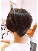 ルルカ ヘアサロン(LuLuca Hair Salon)LuLucaお客様☆スナップ 朝の時短ショートボブ