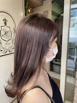 サロンドミルク 原宿(salon de MiLK)ナチュラルピンクバイオレット 夏モテモテなりましょ 髪質改善
