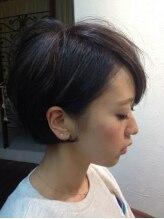 髪質改善ヘアエステ アリュール(allure)☆ラベンダーグレーアッシュ&前髪ローライトのショートBOB☆