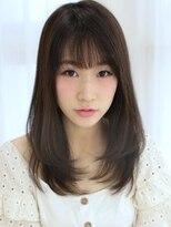 《Agu hair》モテ女子ナチュラルミディ