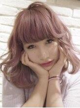 ミエルヘアーアンドスパ(miel hair&spa)◆miel◆ モーブピンクラベンダーアッシュ