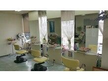 ダイヤモンド美容室の雰囲気(2Fだから落ち着いて過ごせる雰囲気です。)