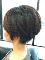 ファクトリー(FACTORY)ショートボブ  髪質改善ストレート