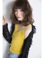 シエン(CIEN by ar hair)CIEN by ar hair片瀬『浜松可愛い』ミディアムボブ×グレイジュ