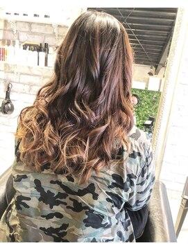 ヘアー アトリエ エゴン(hair atelier EGON)グラデーションカラー