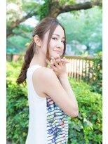 アリシアヘアー(ARISHIA hair)【ARISHIA hair 那珂】ヘアアレンジ 簡単スタイリング ♪