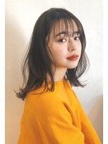 ガーデン アオヤマ(GARDEN aoyama)豊田楓 柔らかミディアム レイヤー 艶カラー 小顔