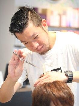 """ヘアーサロンギフト(HairSalon Gift)の写真/スタイル説明はわかりやすく・しっかりと◎大切な""""髪""""をお預かりするからこそ、不透明な施術はなし!"""