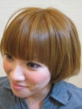 ティアラボックスタウン Tiara BoxTown箱崎店の写真/ヘナとは違う天然由来成分配合☆髪・頭皮にも優しい薬剤でダメージレスに。柔らかく自然な色合いと艶感が◎