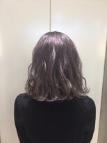 ヘアサロン ドット トウキョウ カラー 町田店(hair salon dot. tokyo color)【lavender grege】ダブルカラーカラーリスト田中 #町田