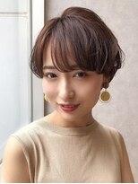 サンド オモテサンドウ(sand omotesando)前髪ありのオトナ可愛いショート