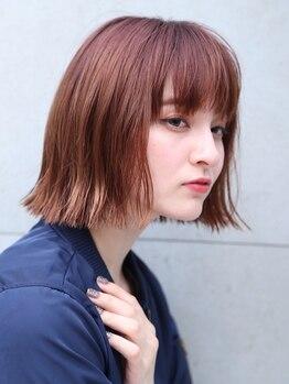 ヘアーメイク アディクト(HAIR MAKE addict)の写真/造形学に基づいたスタイルを提案!!ゲストの希望×髪質×骨格に合わせた、アナタだけの似合わせが実現♪