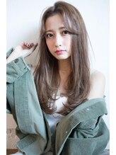 エイト 福岡天神店(EIGHT fukuoka)【EIGHT new hair style】ナチュラルストレート★センターパート