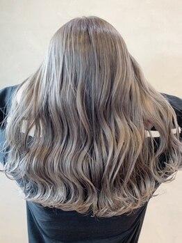 ツミキ ヘアーデザイン(TSUMIKI hair design)の写真/【1周年!カット+カラー¥6500】 技術力が高いサロン≪TSUMIKI≫で最旬のデザインカラーをお得に体験♪