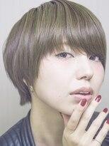 エッセンシャルヘアケア アンド ビューティー(Essential haircare & beauty)マニッシュボブで暖かさをプラス