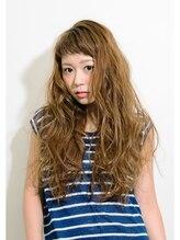ヘアー テソロ(hair tesoro)tesoro ほつれウェーブ大人ベビーロング