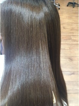 ミエル ヘア(miel HAIR)の写真/【TVCMのような艶髪に☆】カウンセリングで複数のTrから貴方にあったものを…≪髪質改善≫で美髪チャージ♪
