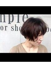 シンプル カラーショップアンドグッズ(sinple color shop&goods)N.color ベリーショコラ