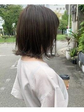 スマートカラー キレイ 高見プラザ店(kirei)アッシュブラウン