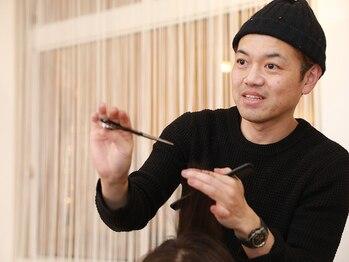 ビューティーサロン マツキ(Beauty Salon Matsuki)の写真/【再現性カットに自信あり】シャープなのに柔らかいラインで女性らしさを表現★360°どこから見ても美しく