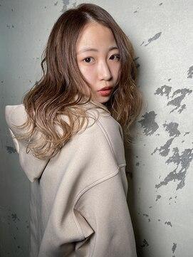 ヘア テラス ソー(hair terrace sooH)∞グレージュmixウェーブ∞