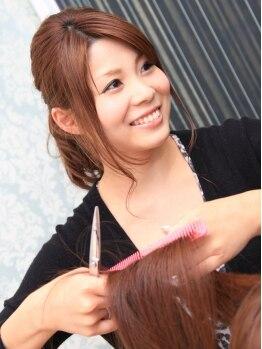 トゥルース 取手店(Hair&Make TRUTH)の写真/【取手駅東口出てスグ!】初めての方でも気軽に足を運べる雰囲気と、女性ならではの温かい接客が大好評♪