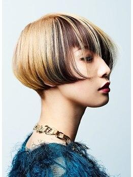ヴェルム ヘア デザイン(Velum.HAIR DESIGN)の写真/カットデザインを引き立たせるお客さまだけのオーダーメイドヘアカラーデザインが得意です☆